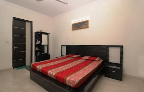 Supreme Private BedRoom + Living Room +Kitchen