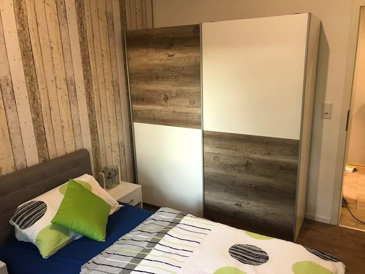 Gemütliche Wohnung mit separaten Eingang für bis zu 6 Personen Nähe Fulda