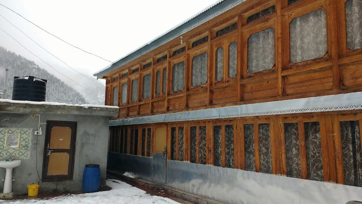 Wooden House in Sangla Valley