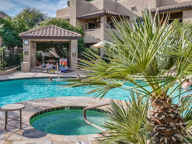 You will love this 1 bedroom in a resort setting!