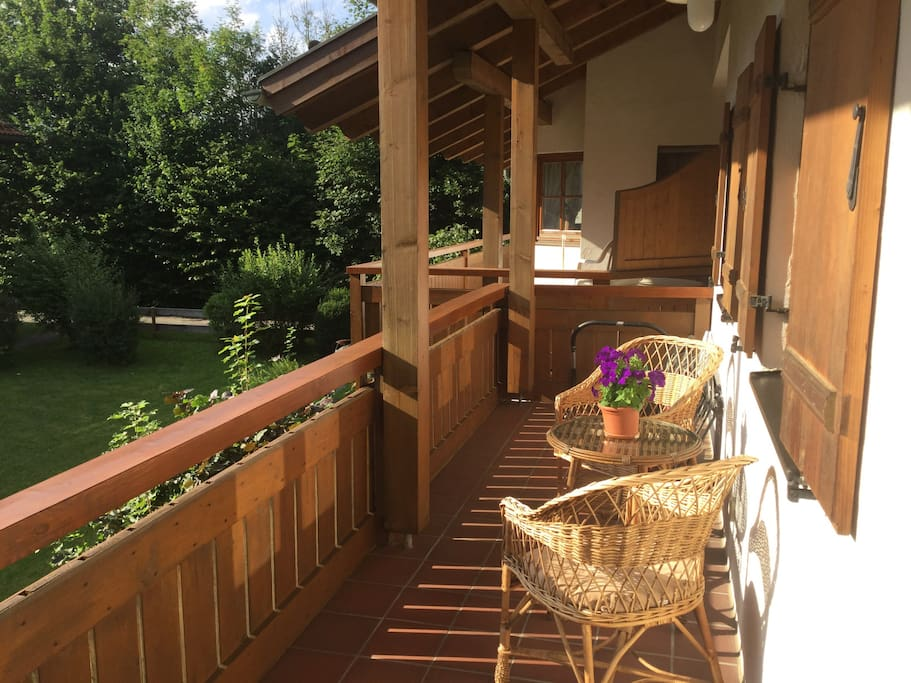 Balkon (Westseite)