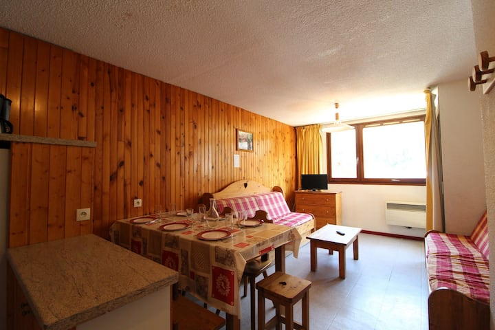 AR0011 apartment in the village of Lanlebourg at 300m of the slopes