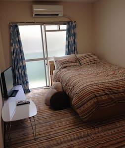 Neat apartment + wifi + parking - Mukō-shi
