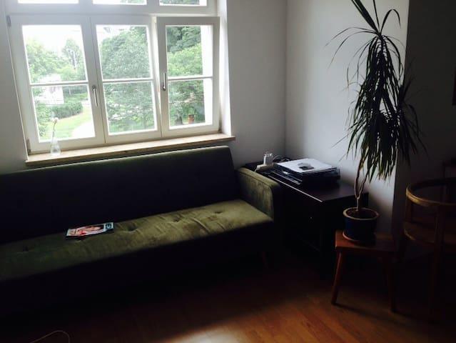 Sonnige, zentrale Wohnung im Grünen - Leipzig