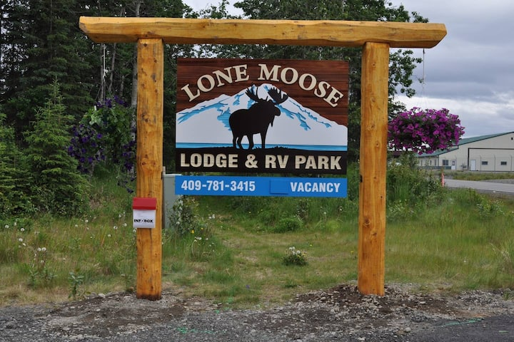 Alaskan Kenai River VIP Dry Rv Spot #1 no hookups