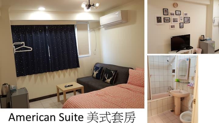 Shilin Night Market Suites 2, Taipei 士林夜市獨立衛浴優靜套房2