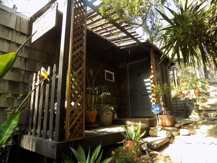 Zen forest cottage in silver lake houses for rent in los for Cottages in los angeles