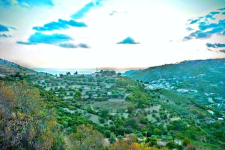 Panorama, montagne, mer, salubrité! - Fornelli - Haus