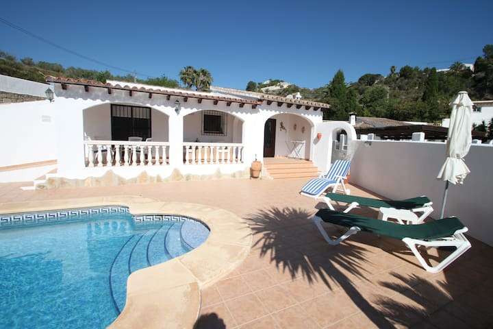 Colina - holiday home with private pool in Moraira - Teulada - Vila