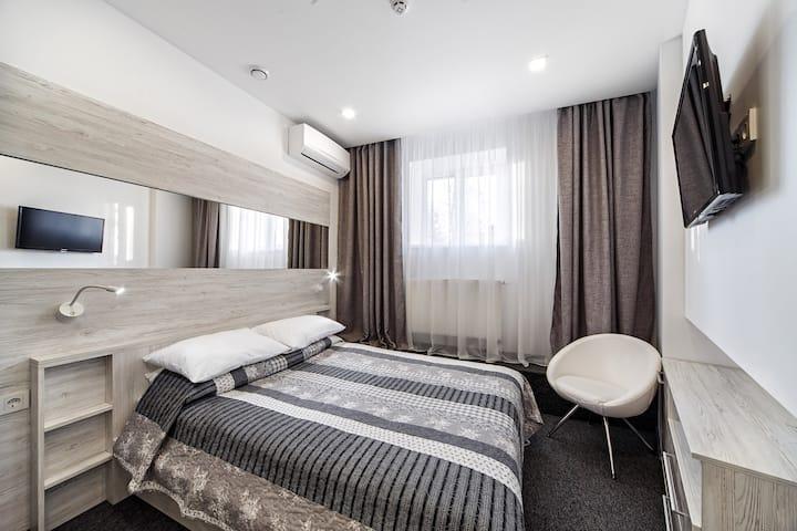 Уютная комната в скандинавском стиле, центр Львов