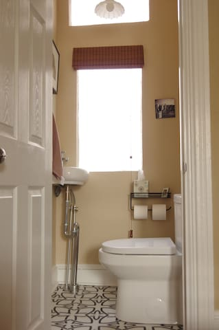 Powder Room-right off the living room
