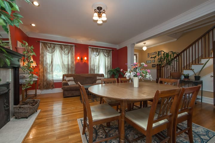 Rosewood Haven:Historic in Park-Lake-Pet Friendly - Richmond