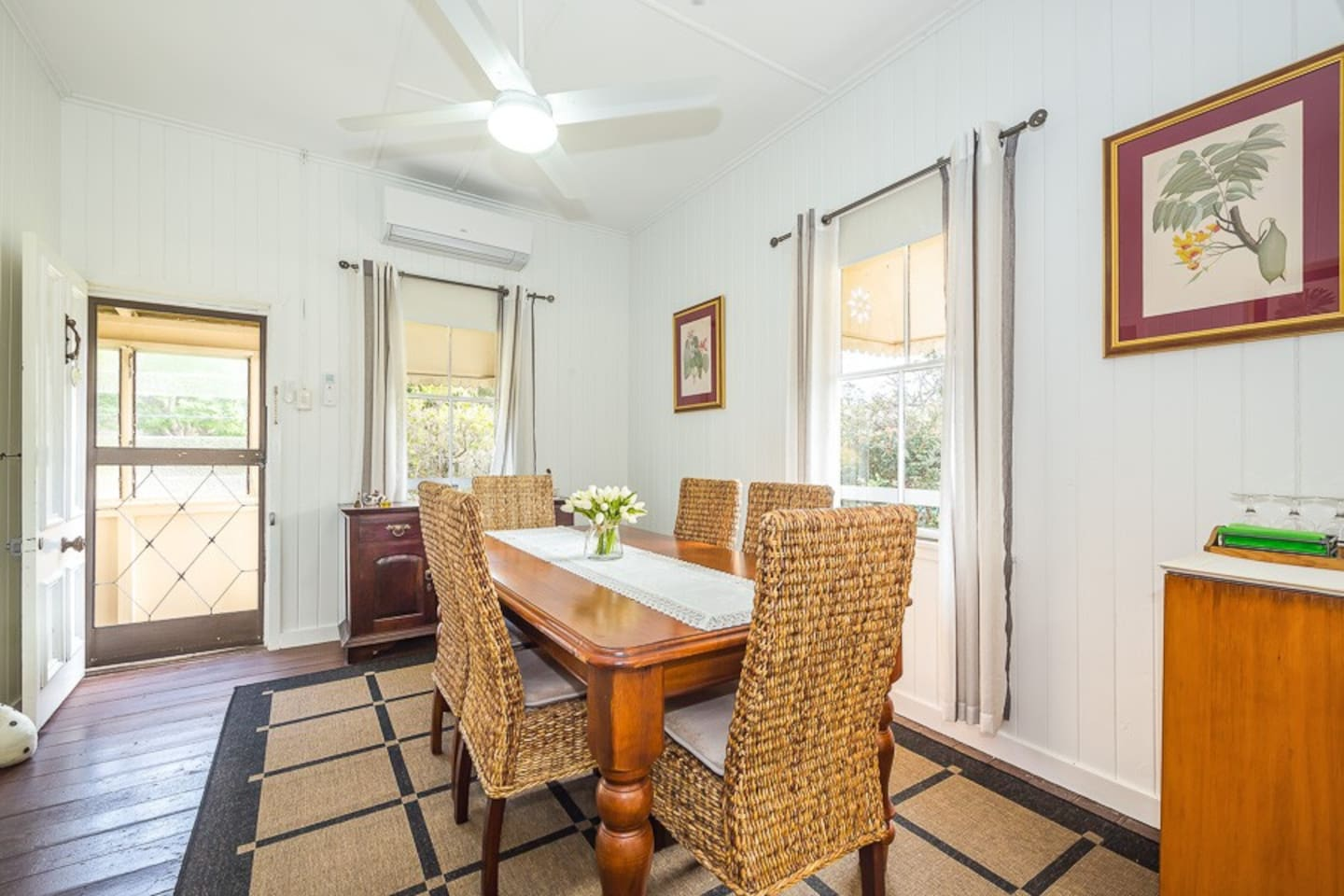 Open-plan air-conditioned dining area
