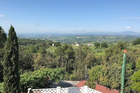 An amazing view on Umbria's countryside