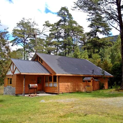 Cabaña para 7 personas en el Lago Risopatrón