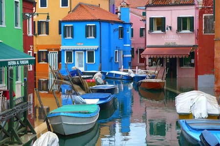 HOUSE ON THE SKY of Burano