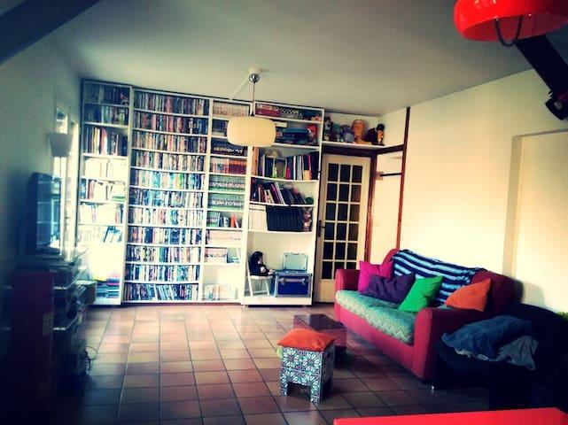 Chambre privée dans maison Parc Montreau - Montreuil - Huis