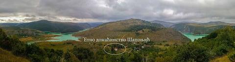 Uvac lake, Ethno Household Saponjic (room)