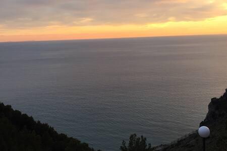 Cosy romantic studio overlooking the sea - Sperlonga - Byt