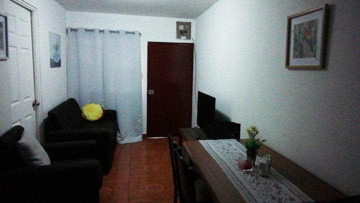 Apartamento enteroLuna,,1 a 5 . mas personas,