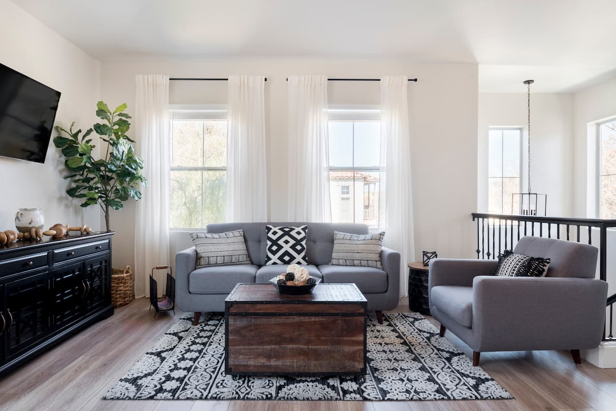 Restyled Rustic-Urban Downtown Gilbert Townhouse
