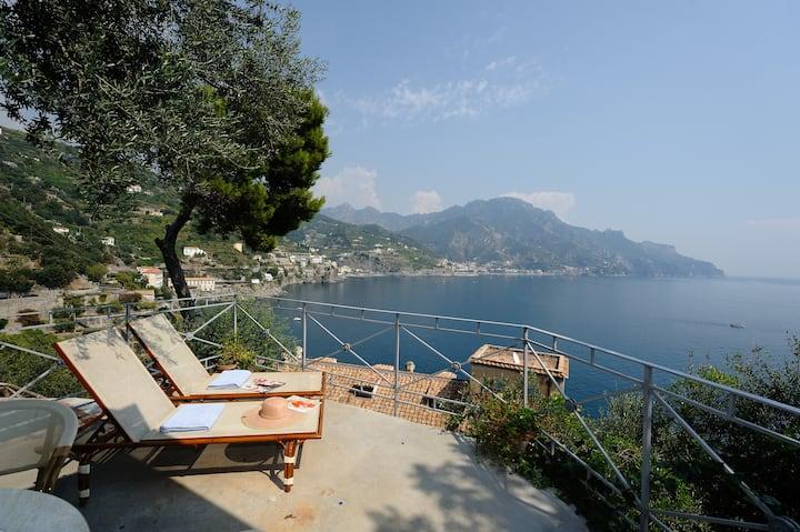 House Oliver Breathtaking Sea View on Amalfi Coast