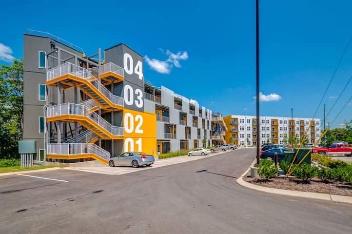 2nd floor, end unit in ALLOY Building 30 day min