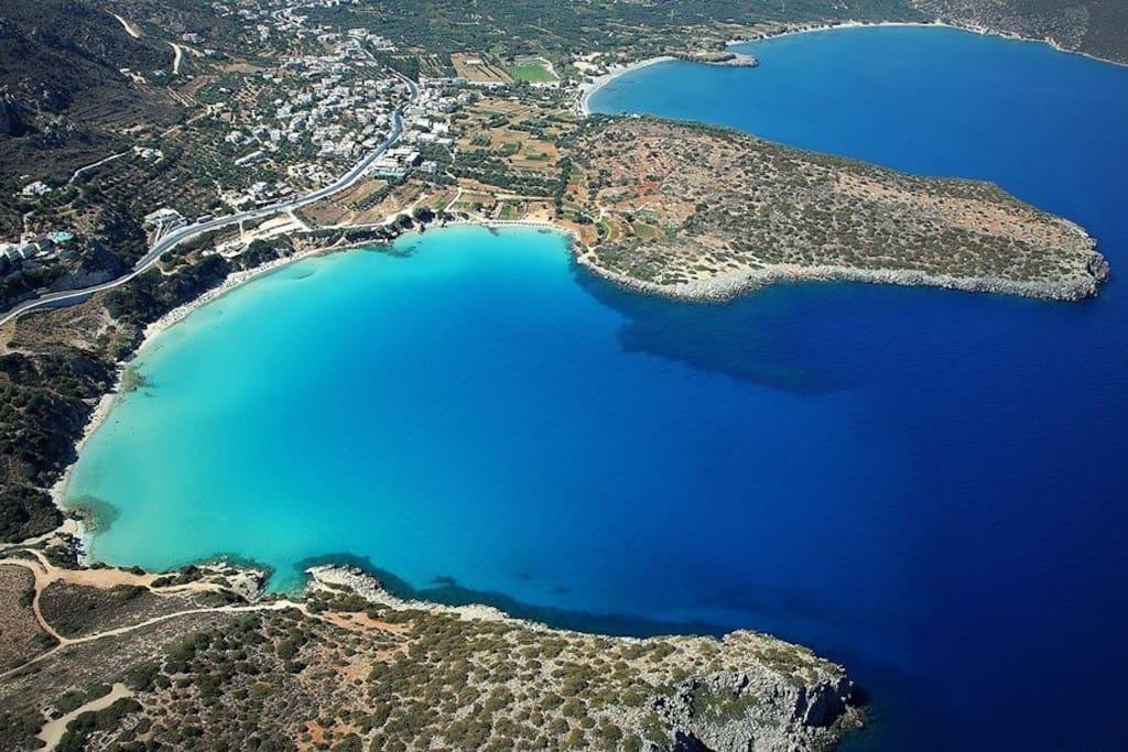 Voulisma Beach - Top10 Strand auf Kreta