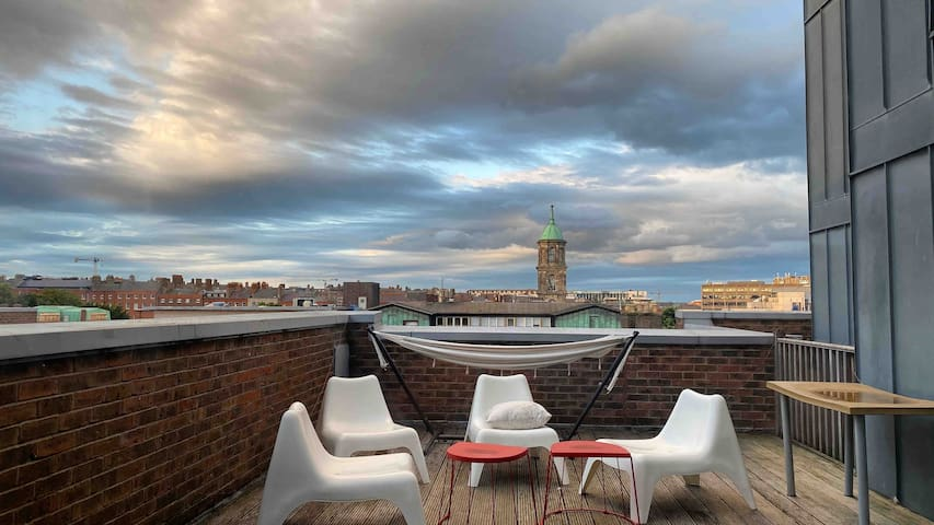 The penthouse in the heart of Dublin