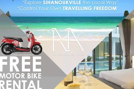 NA Boutique Hotel and Apartment (Free Motor Bike) - Krong Preah Sihanouk - อพาร์ทเมนท์
