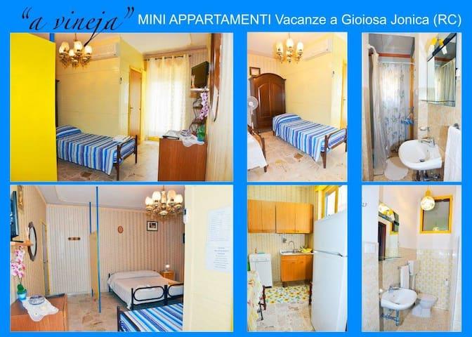"Monolocale ""Nta vineja"", Gioiosa Jonica - Gioiosa Ionica - Apartment"