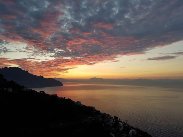Appartamento panoramico in Amalfi