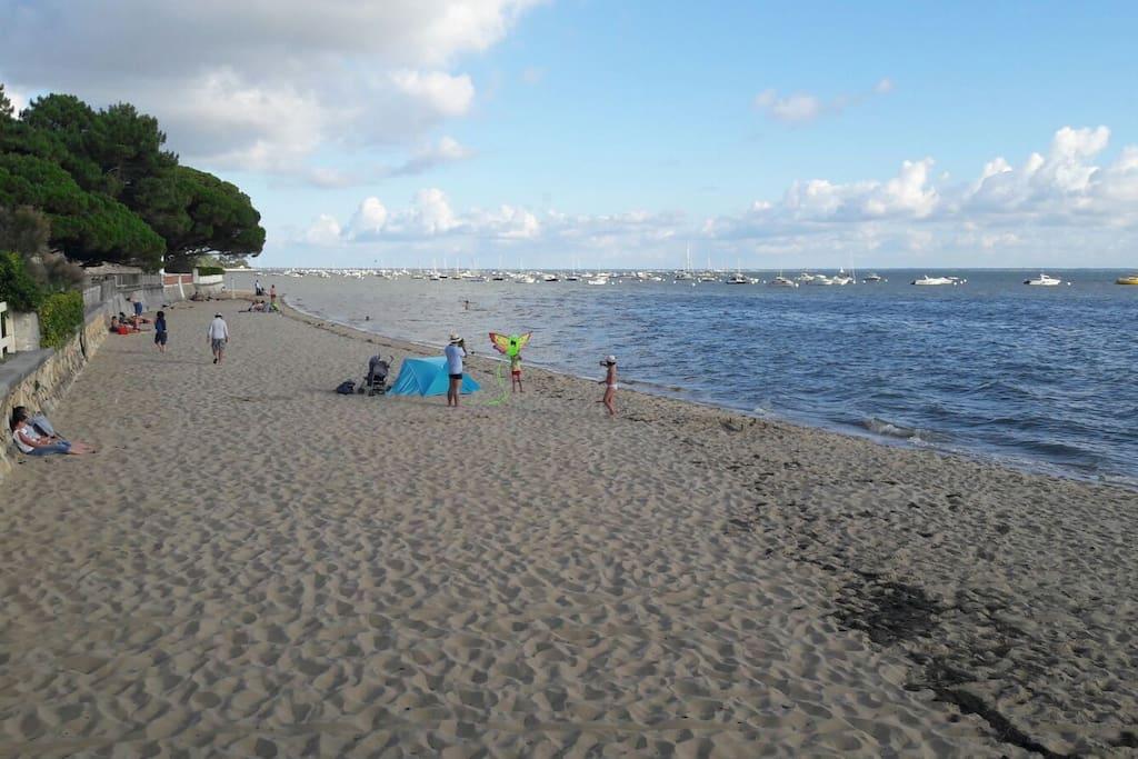 plage à 3mn