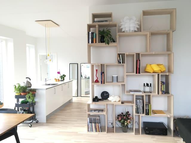 Cozy room in modern apartment-central Copenhagen