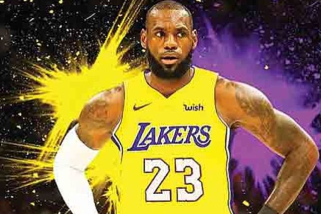 The New King of LA is HERE! LEBRON!