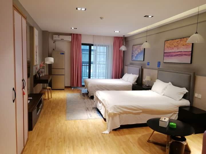 bed公寓11 现代简约风格天鹅湖安徽广电中心奥体中心万象城合肥新八中新丽晶城御龙湾山水名城