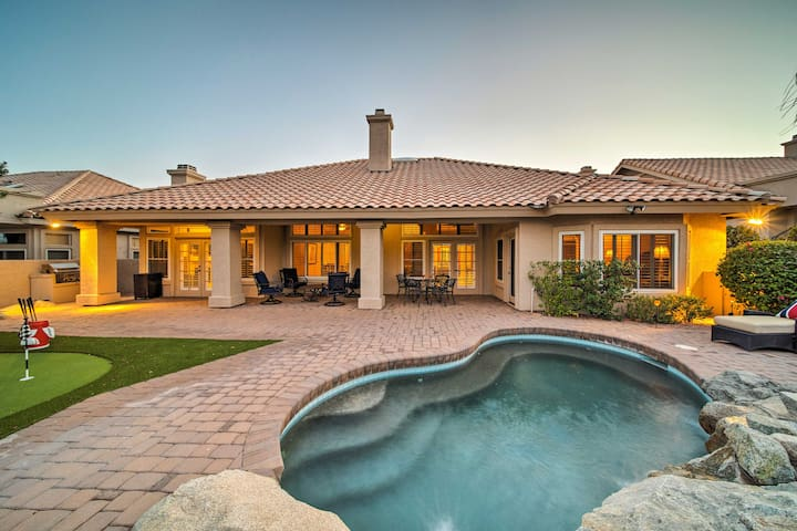 Grand Home w/Private Pool on Foothills Golf Course