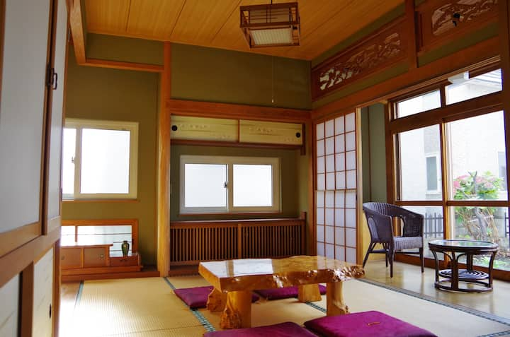 Japanese-style house☆WiFi&Free Parking
