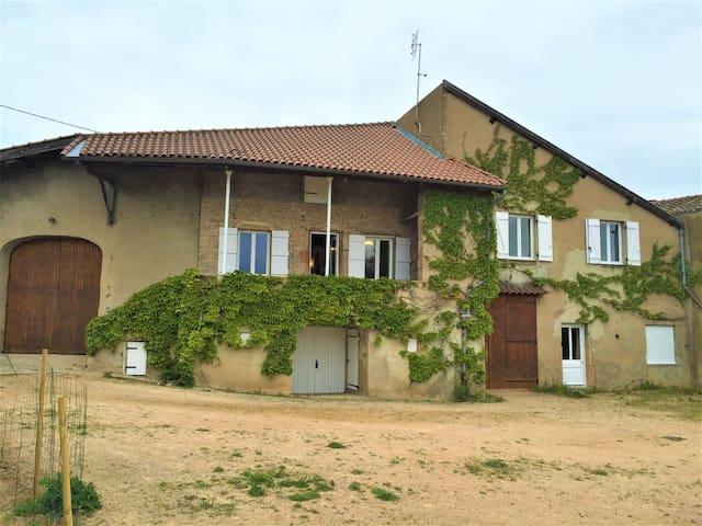 Le Meix Claude Bulland: maison de vigneron