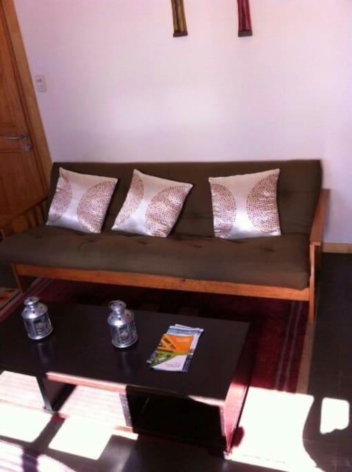 Caba a mediterr nea en villarrica houses for rent in for Sillon cama 1 plaza y media