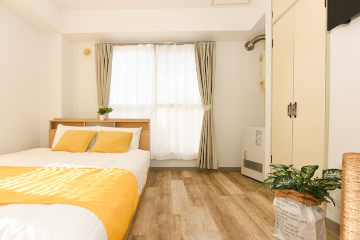 1min from Sta, Odori Area, Wifi