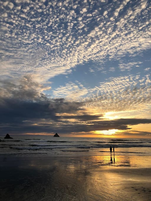 Castle Rock sits just off the coast of Arch Cape