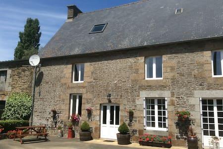 La Loctais, St Ouen La Rouerie, Brittany - Saint-Ouen-la-Rouërie - Haus