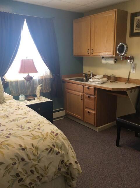 Latitude71 B and B Twin Room B