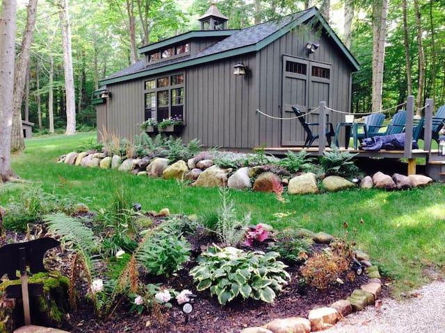 Bear's Den on Mirror Lake Drive in Lake Placid, NY
