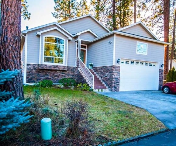 Amazing Private suite w/ rec room and kitchen! - Spokane Valley - Huis