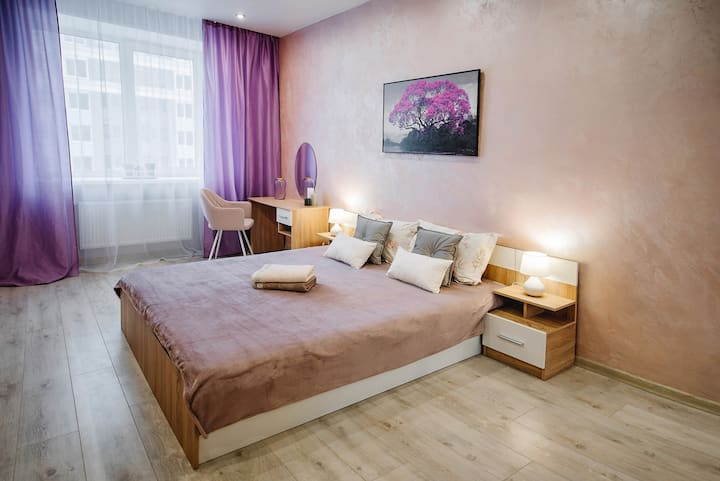 Уютные аппартаменты в сердце города на Чапаева 59