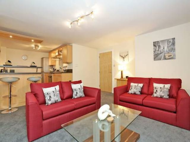 Aberdeen City Centre Executive 2 bedroom Apartment