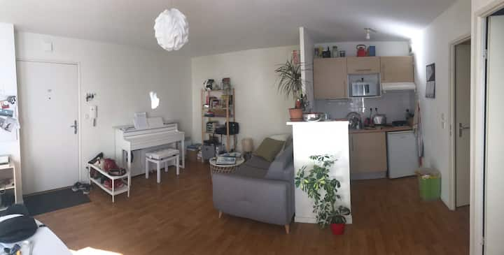 Appartement sur l'Île de Nantes, proche République