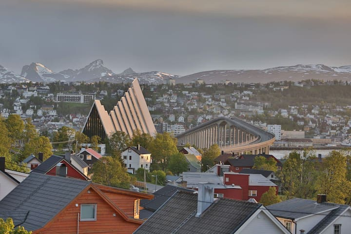 Apartment, stunning views in Tromsø